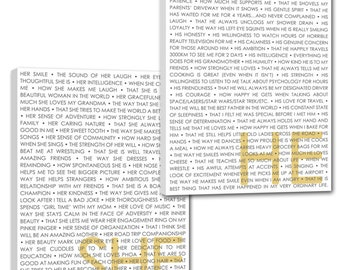 She He Word Art wedding phrases art describing  your love  Word Art Custom Canvas -THIS listing is for TWO - 10x14  inches
