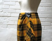 Avant Garde 80s Mini Tartan Kilt Skirt by Georges Rech 36 Small - bigyellowtaxivintage