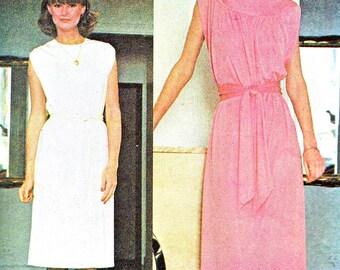 1970s Dress Pattern McCalls 5047 Blouse Bodice Day Evening Dress Yoked Midi or Maxi Dress Womens Vintage Sewing Pattern Bust 36 - 38
