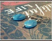 Blueberry Faceted Earrings
