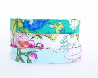 Floral Dog Collar - English Garden Collection