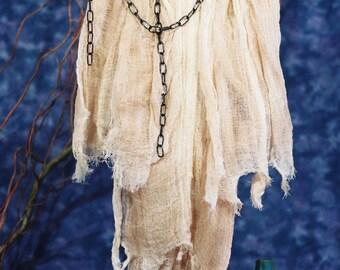 Cloth Doll E-Pattern - 30in Halloween Ghost Epattern