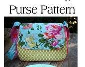 Mini Messenger Bag Pattern,Purse Pattern PDF Sewing Pattern Ebook Sewing Tutorial INSTANT DOWNLOAD