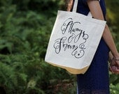 Always & Forever Limited Quantity Large Thick Canvas Gift Bag