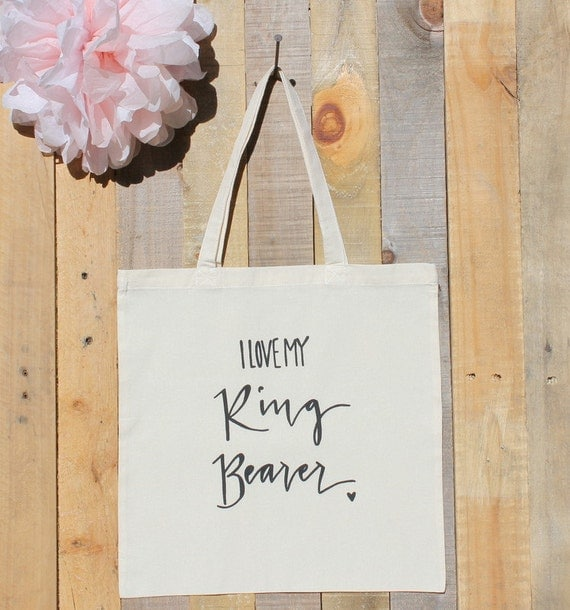 Ring Bearer Gift Bag Wedding Party Favor