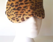 Velboa Faux Fur Leopard Printed Travel, Sleep, Eye Mask ~ Perfect for a Bridal Party or Shower Gift ~ Light Blocking ~ MADE TO ORDER