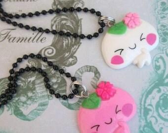 Kawaii Cake Necklace Set