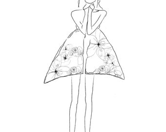 Limited Edition Illustration ----Fashion No. 2