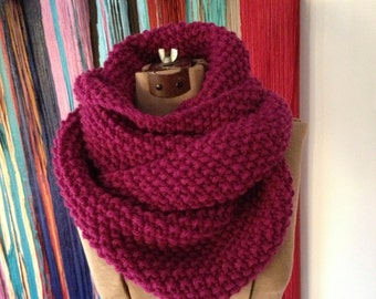 HELEN Oversized Long Cowl
