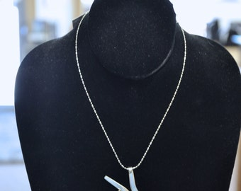 Peace Fork Necklace