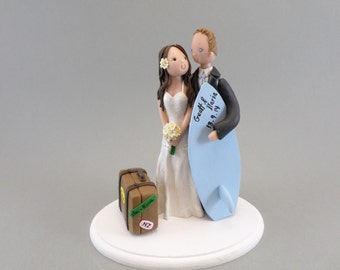Surfers Cake Topper