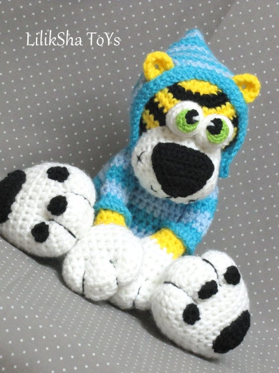 Amigurumi Patterns Tiger : Amigurumi Pattern Tiger Kerusha. by LilikSha on Etsy