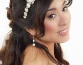 Bridal Headband, Silver headband, Gatsby Art Deco Bridal Headband, Crystal Hair piece, Wedding Headband, Tiara, Bridal Hair Accessories