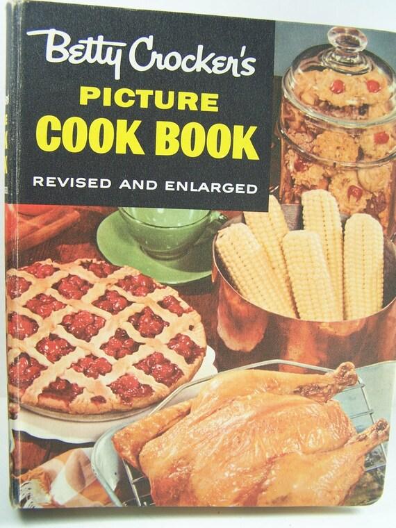vintage betty crocker cookbook picture cookbook by. Black Bedroom Furniture Sets. Home Design Ideas