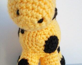 Crochet Ellie the Giraffe pattern