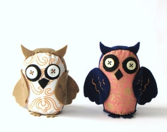 D.I.Y. The Awesome Owl PDF Pattern and Instructions --INSTANT download--