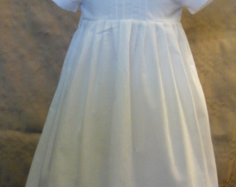 Ethan cotton boy baptism, christening, blessing gown, dress