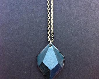 Black Geometry Necklace