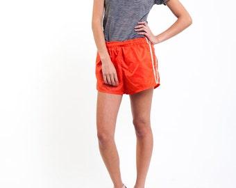 Orange Creamsicle Running Shorts