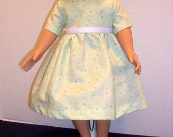 American Girl flower print dress