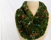 Garden Bloom Lace Drape Cowl
