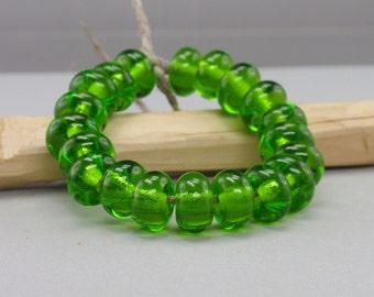 25 % off - 20 Spacer - Handmade Lampwork Beads - S 10
