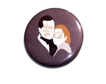 Casablanca Pinback Button   Film Buttons   Love Quote   Couple Pinback Buttons   Magnet   Humphrey Bogart Ingrid Bergman