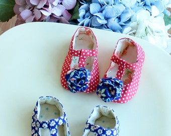 no 308 Seraphina Baby Shoes PDF Pattern