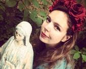 Red Doo Nanny Floral Crown / Headband