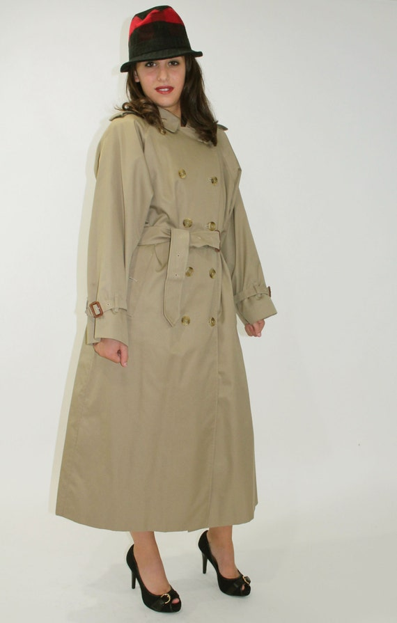 RESERVED Please Do Not Buy 80s BURBERRYS Trench Coat Overcoat