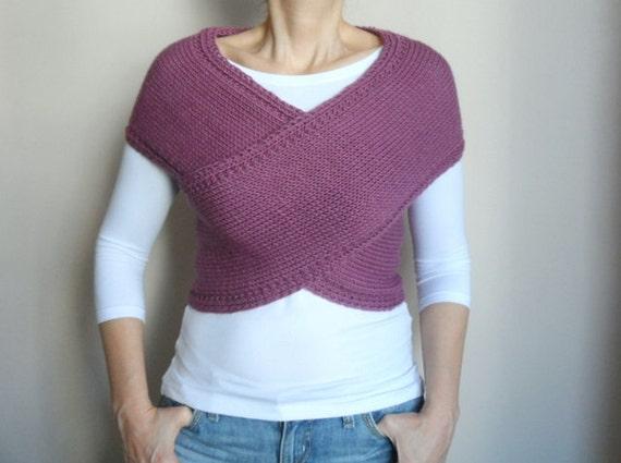 comment tricoter une echarpe gilet