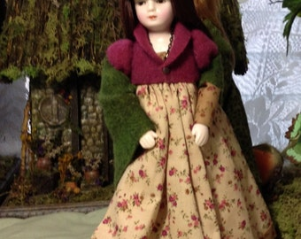 OOAK  Doll Olivia in the Enchanted Forest