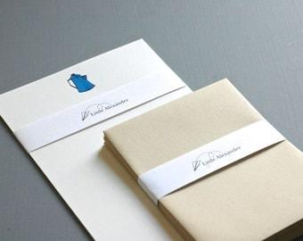 Tea Kettles Letter Writing Set