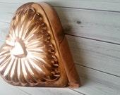 Vintage Heart Copper Mold