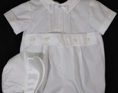 CHRISTENING SUIT Baby boy Sateen cotton