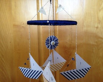 Nautical Sailboat Mobile