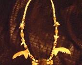 VOODOO ceremonial Orisha worship necklace