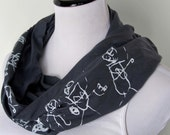 Your Kid's Drawing, Mother's Day Scarf