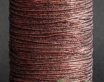 Soutache braid - flat 2.5mm soutache cord - smooth bronze (ST1040) - 3 meters