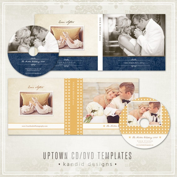 UPTOWN DVD Case & Label Templates