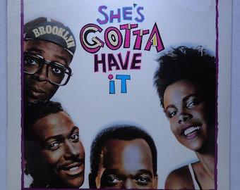 "Rare ""She's Gotta Have It"" Vinyl Soundtrack (1986) - Sealed"