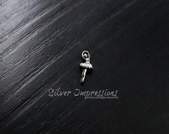 Ballerina Floating Locket Charm /  Locket Charms /  Memory Locket Charms