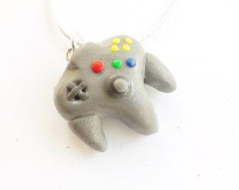Nintendo N64 Controller Necklace