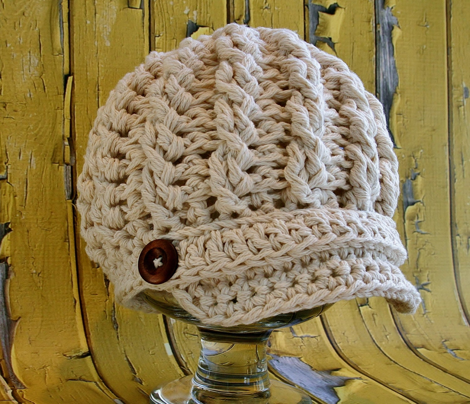 Crochet newsboy hat pattern cabled newsboy hat pattern toddler this is a digital file bankloansurffo Gallery