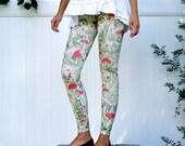 Mushroom Fairy Print Leggings