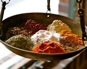Spices Print - Kitchen Art - Food Photography - Spice Market Photo Charleston Decor Mustard Cinnamon Sage Tumeric Cayenne Photograph