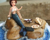 Beadwork Art Marsha Mermaid and Her Story