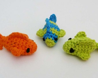 Small Catnip Goldfish Cat Toys