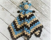 Giraffe Lovey, Security Blanket, Blankie, MADE TO ORDER