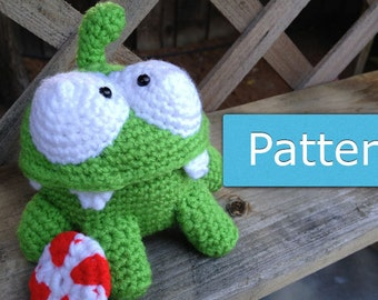 Amigurumi Cookie Monster Pattern : Cattail PDF Amigurumi Crochet Pattern by GeekChicurumi on Etsy